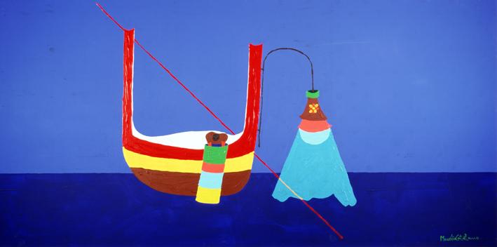 Maurilio catalano arte al borgo arte pittura e oggetti for Arredo barche